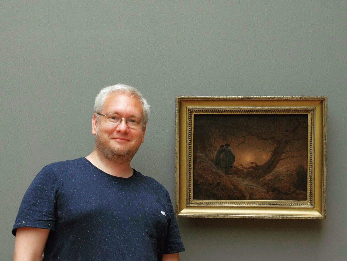 Портретный снимок Константина Рубинского