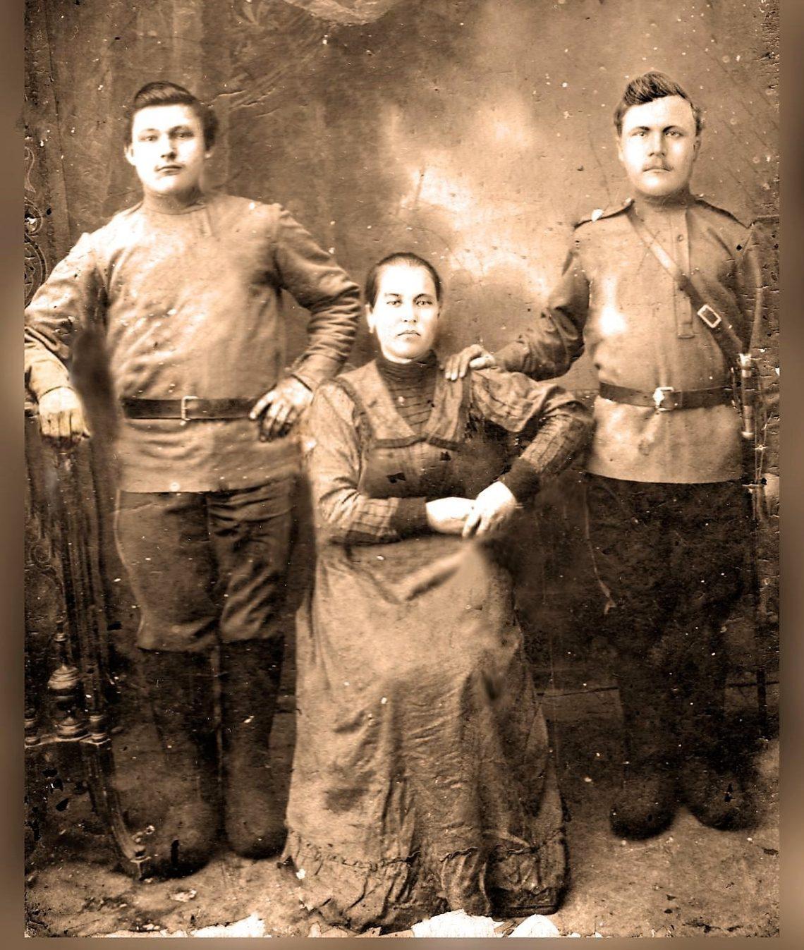 Казачья семья