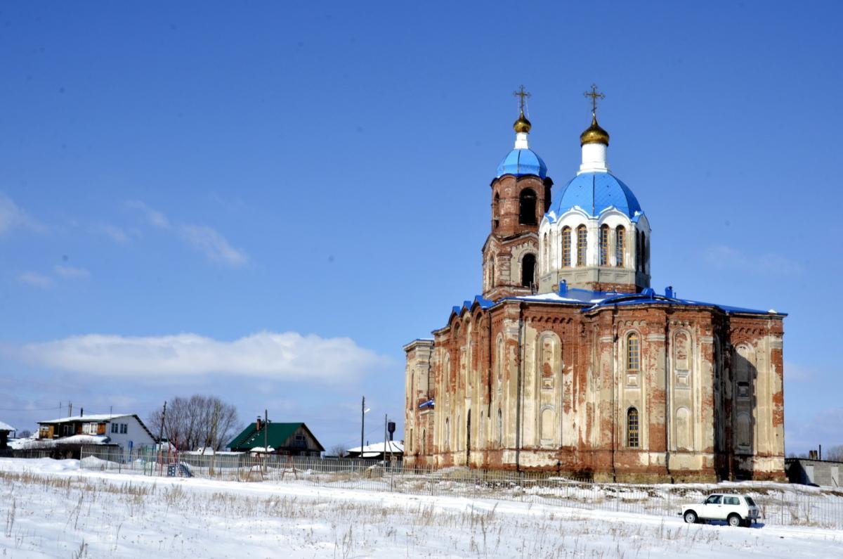 Церковь Тихвинской иконы Божией Матери (1879–1899 гг.). с. Губернское Аргаяшского района
